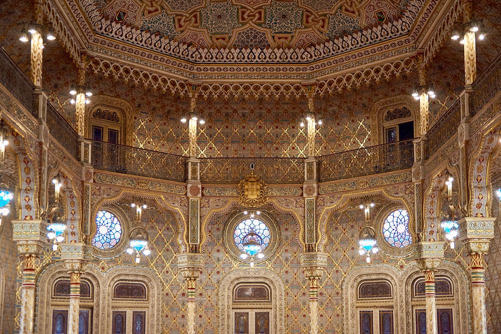 Moorish Revival Salão Árabe in the Palacio da Bolsa