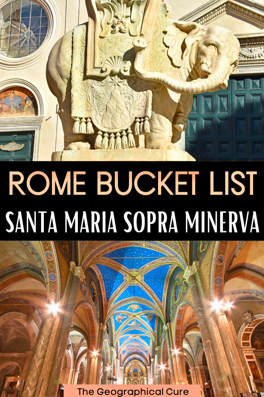 guide to Santa Maria Sopra Minerva