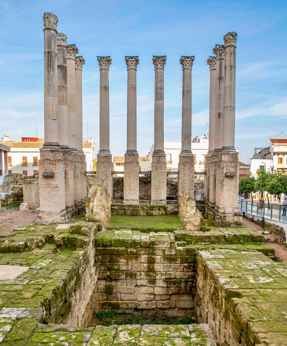 ruins of Cordoba's Roman temple