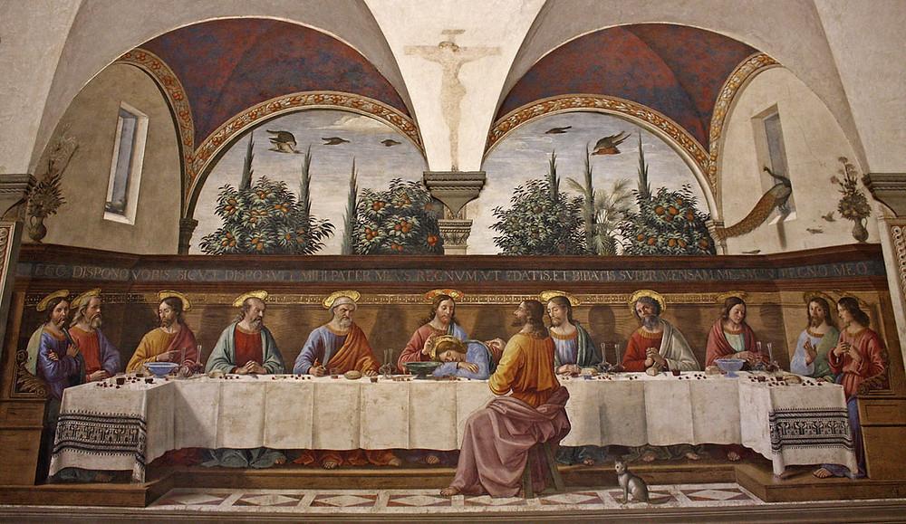 Domenico Ghirlandaio, The Last Supper, 1486