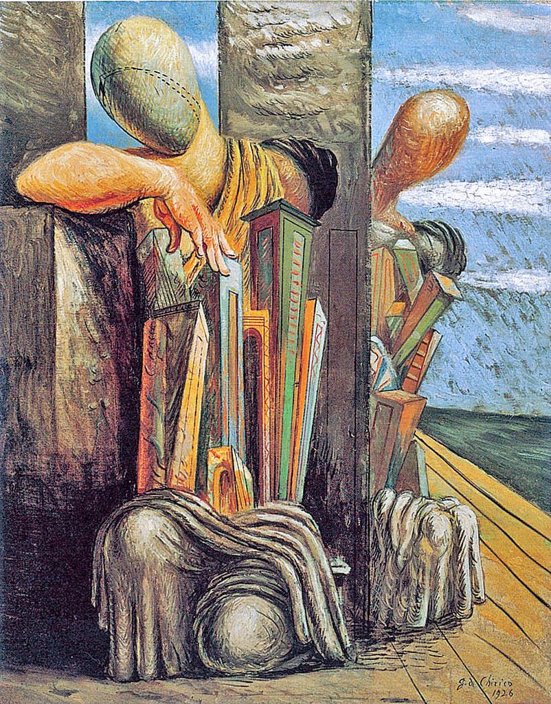 Giorgio de Chirico, Philosopher's Troubles, 1925-26