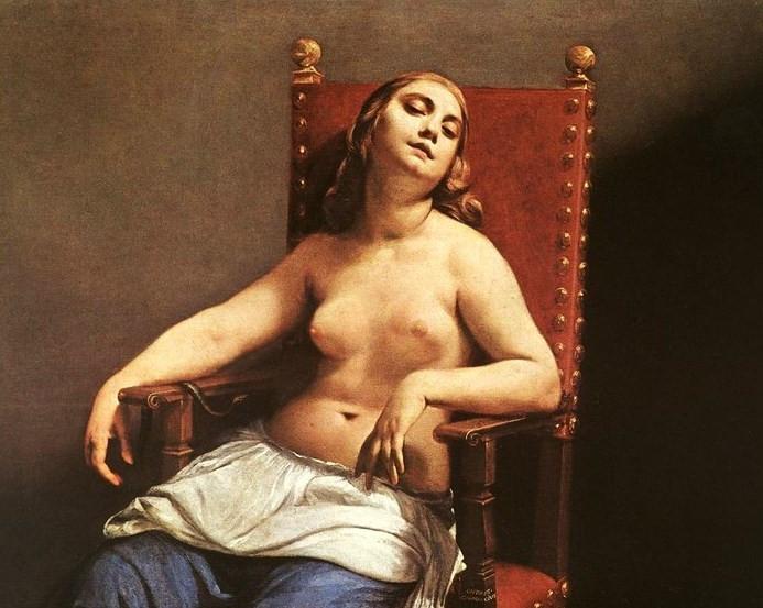 Guido Cagnacci, Death of Cleopatra, 1657-59