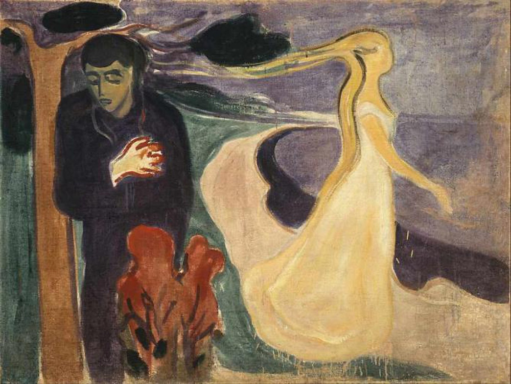 Edvard Munch, The Separation, 1896
