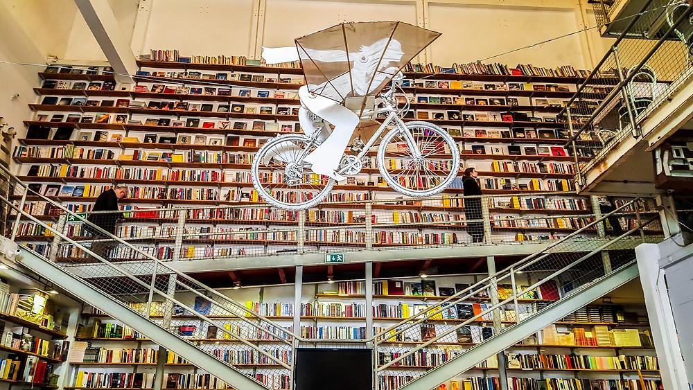 Livraria Ler Devagar bookshop in the LX Factory