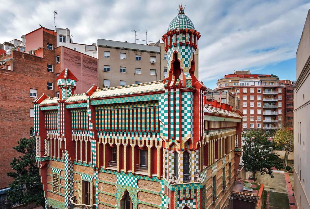 Casa Vicens, Gaudi's first house commission