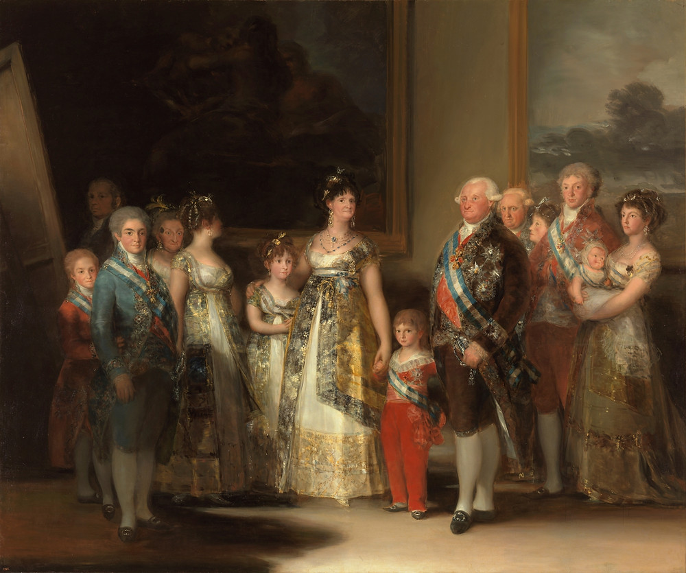 Goya, Charles IV of Spain and His Family, 1800