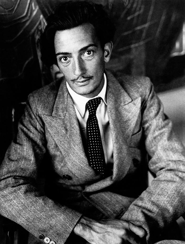 a young Salvador Dali