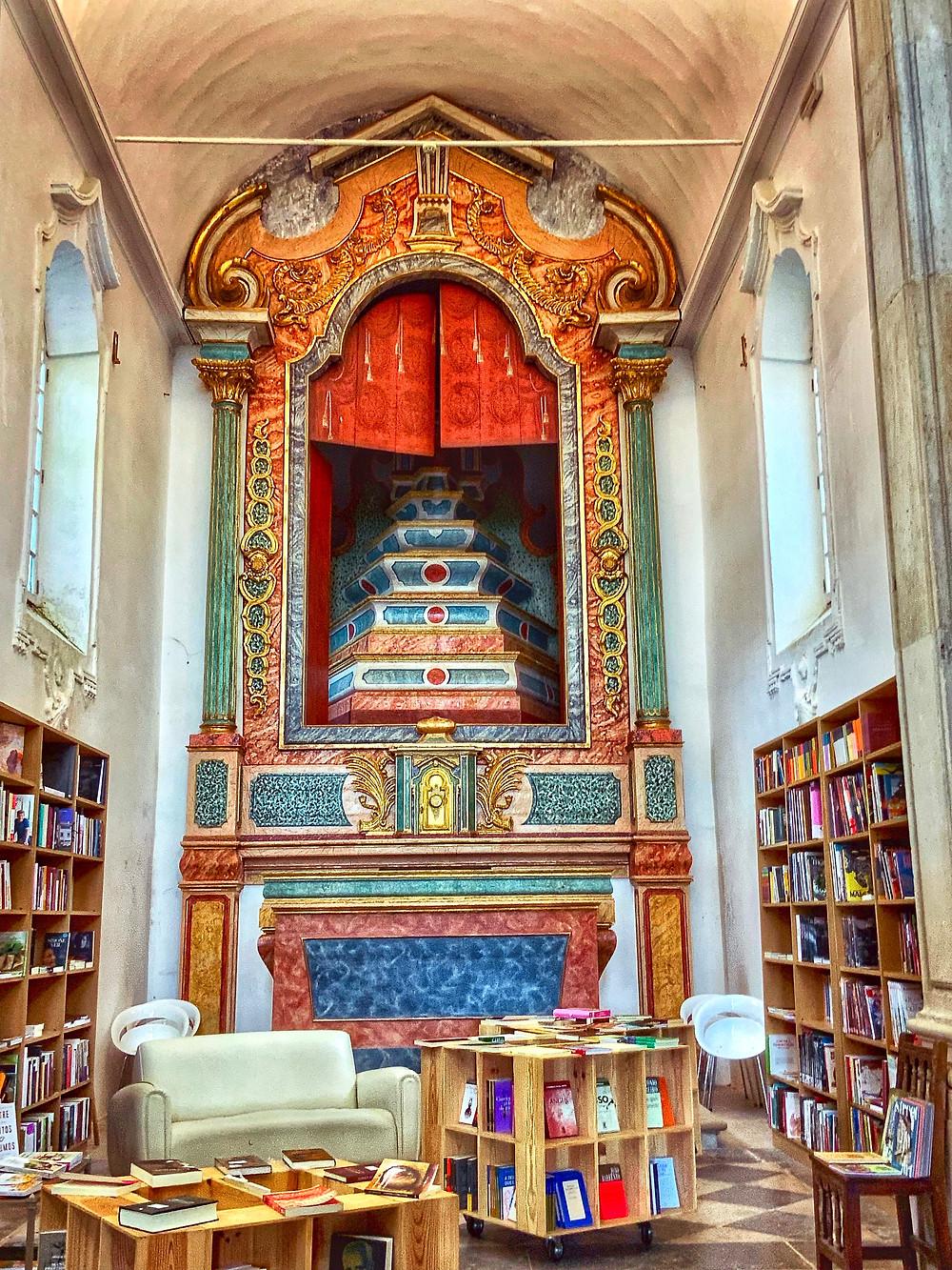Livraria de Sao Tiago in Obidos