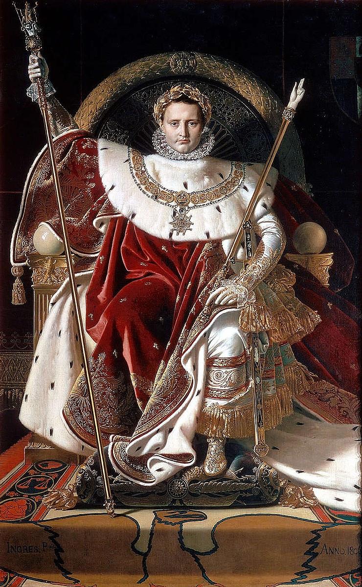 Ingres, Napoleon on his Throne, 1806