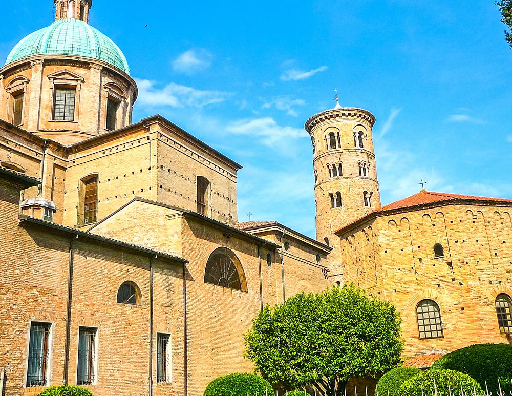 the Basilica of San Vitale in Ravenna