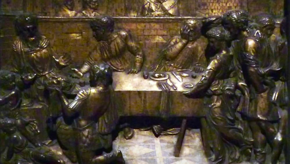 Donatello, Feast of Herod, 1427