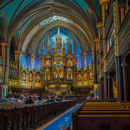 Visitor's Guide To the Jewel of Montreal: the Blue-Hued Basilica Notre-Dame