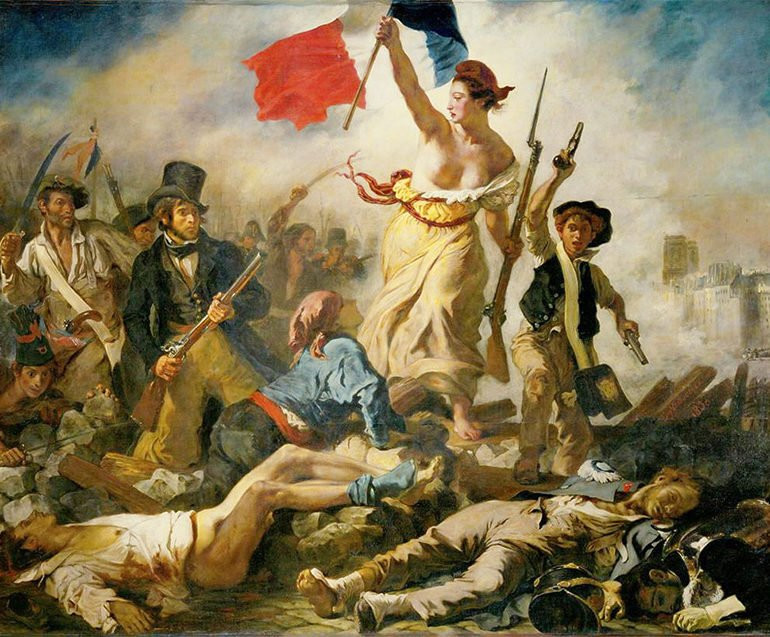 Eugene Delacroix, Liberty Leading the People, 1830