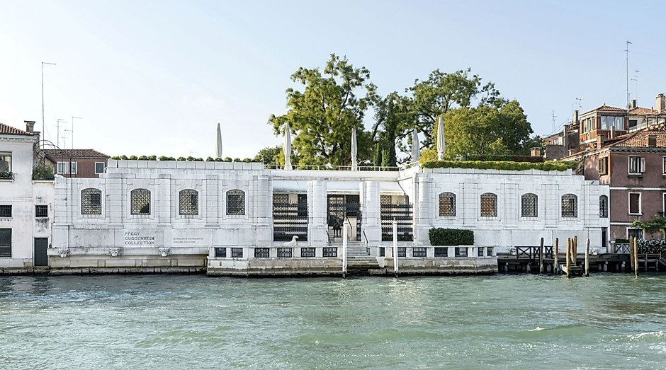 Palazzo Venier dei Leoni on the Grand Canal, home to the Peggy Guggenheim Collection