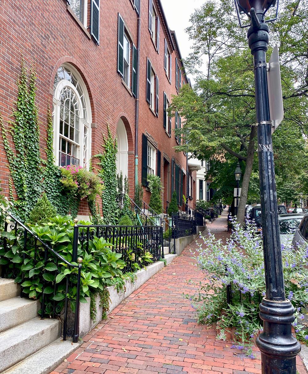 Mount Vernon Street in Beacon Hill