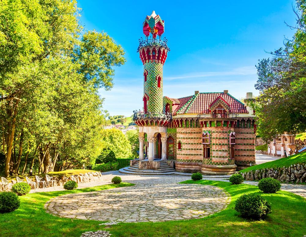 Gaudi's El Capricho in Comillas Spain