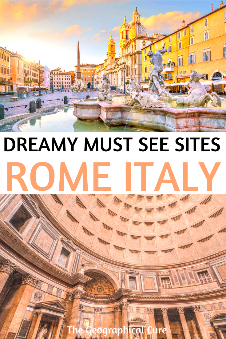 3 Day Travel Itinerary for Rome with all the Must See Sites