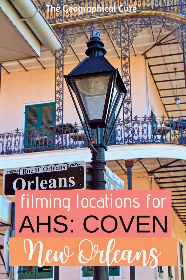 filming locations for American Horror Story, Coven, in New Orleans