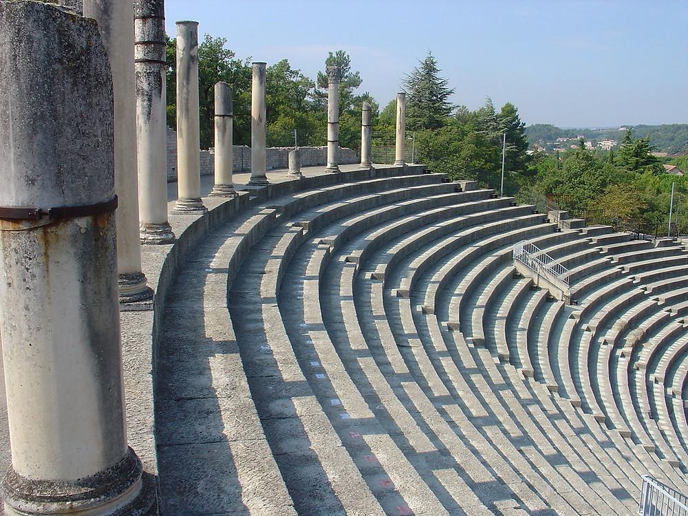 the Roman Theater in Vaison-la-Romaine