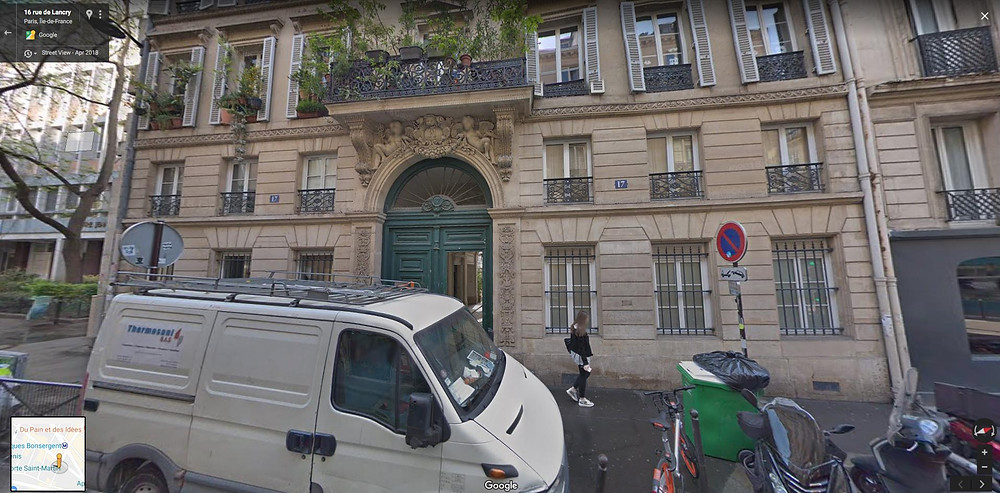 Rue de Lancry in the 10th arrondissement, the location of Villanelle's apartment