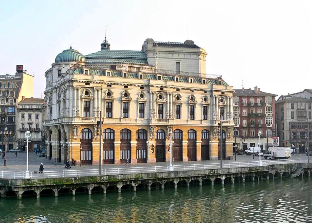 Arriaga Theater in Bilbao Spain