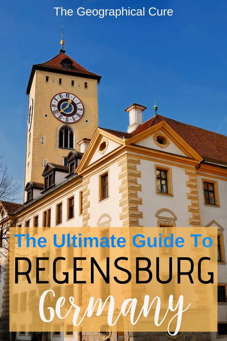 The Ultimate Guide to Regensburg Germany, an unmissable UNESCO town in Bavaria