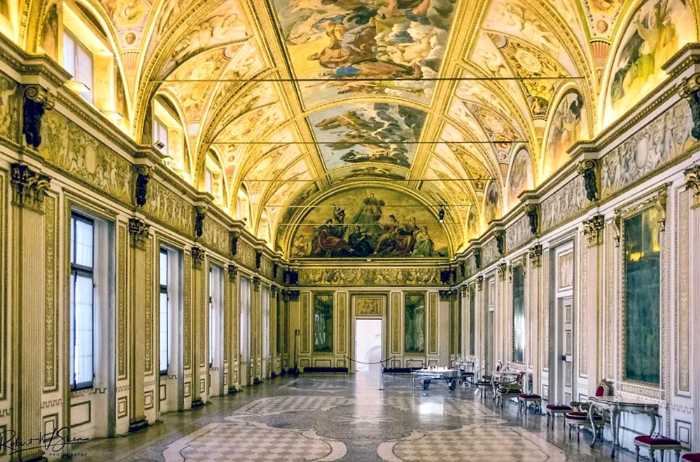 Hall of Mirrors in the Ducal Palace. Image: Robert Shea