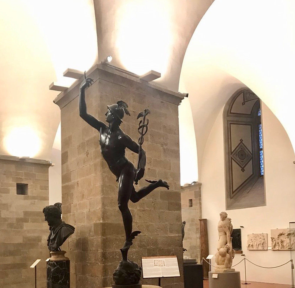 Giambologna, Flying Mercury, 1580, a must see sculpture at the Bargello Museum in Florence