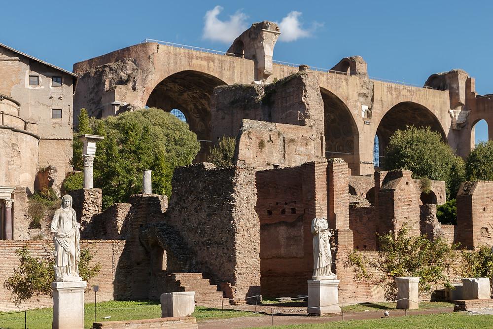 the baths of Domus Severiana