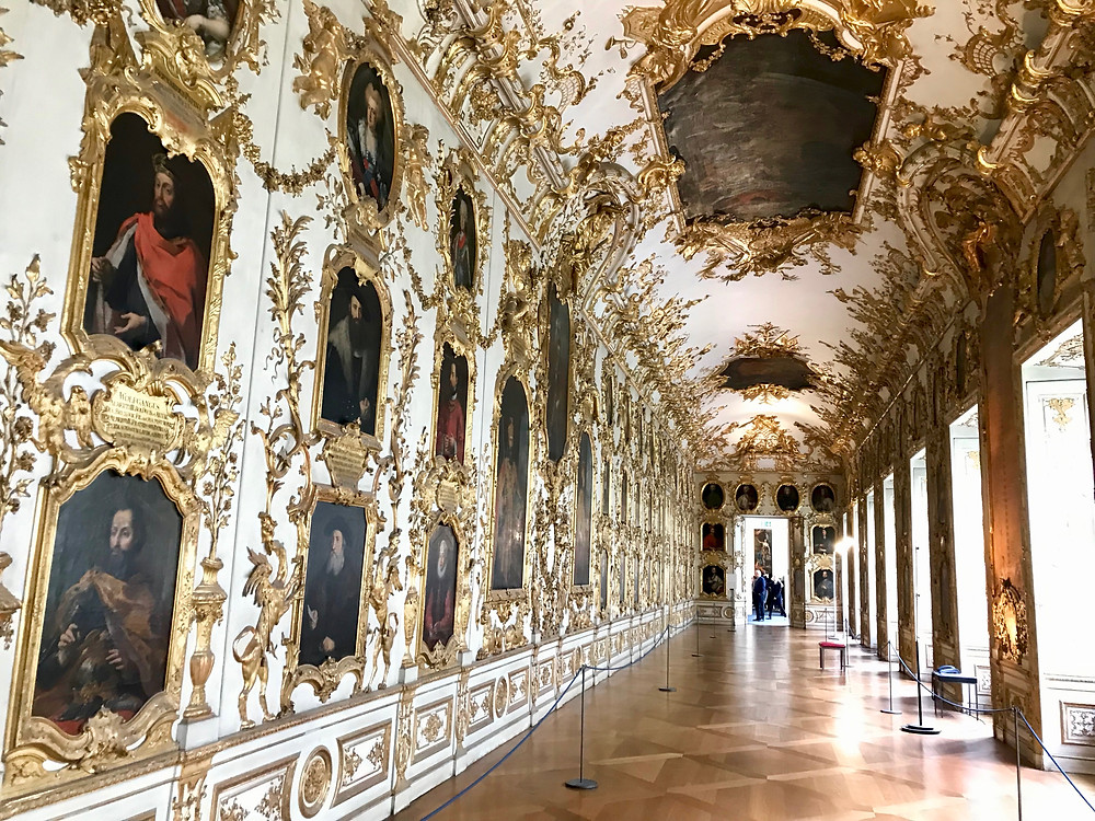 the Ancestral Gallery in the Munich Residenz