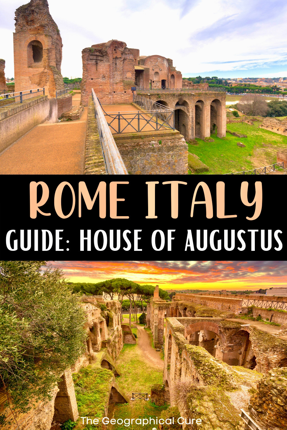 guide to the House of Augustus, a must see ancient Roman ruin in Rome Italy