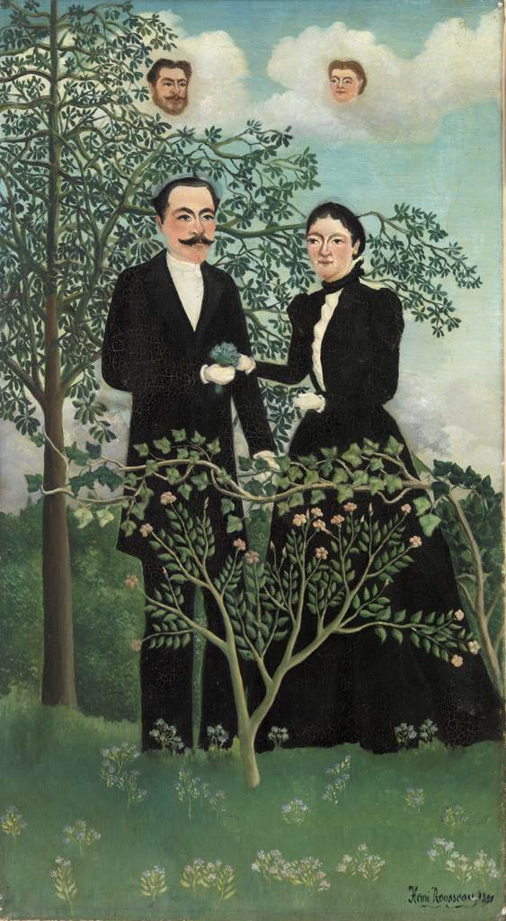 Henri Rousseau, The Past, the Present, or Philosophical Thought, 1899