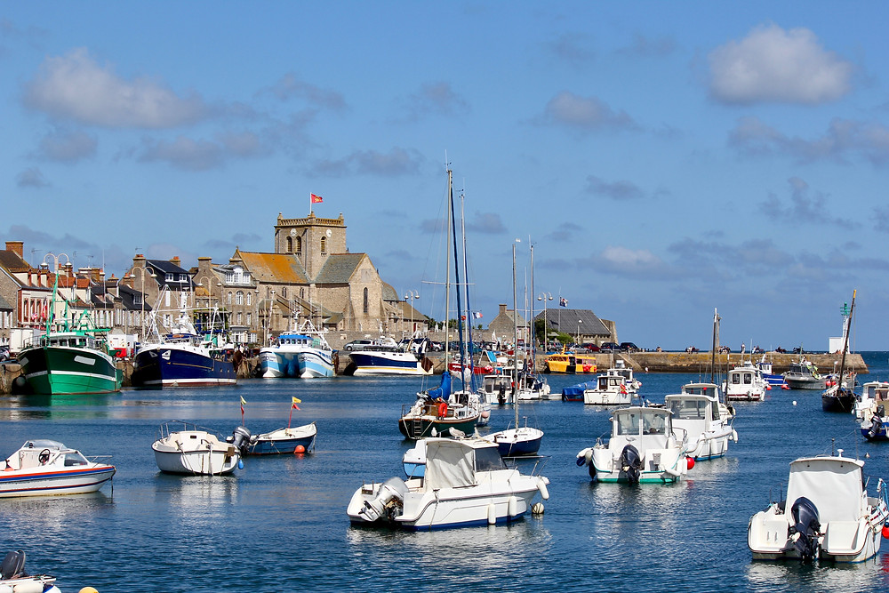 Barfleur, one of Normandy's most beautiful villages