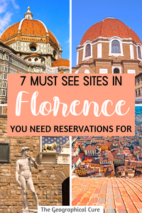 Florence: Must See Sites You Need Reservations For