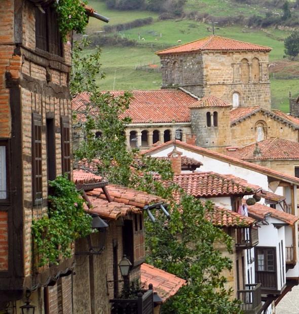the charming town of Santillana del Mar in Cantabria Spain