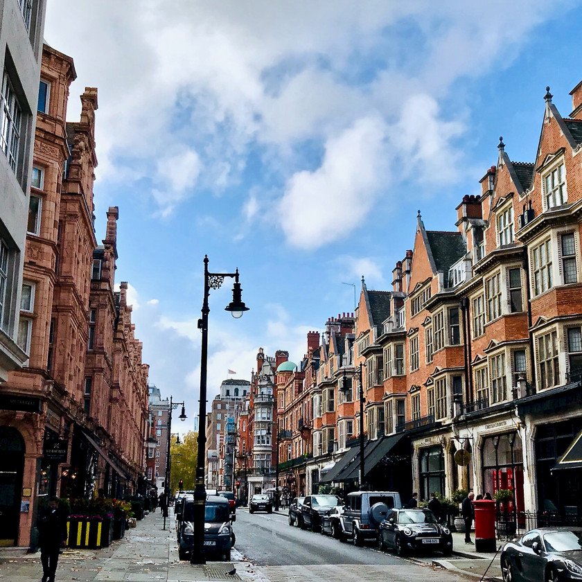 Mount Street in Mayfair
