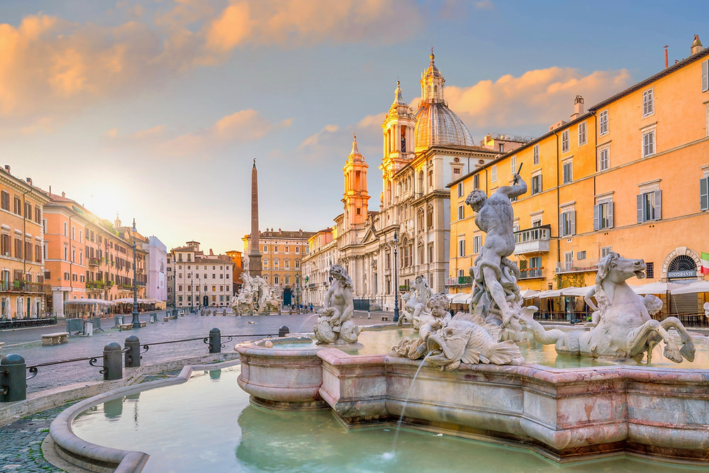 fountains of the Piazza Navona