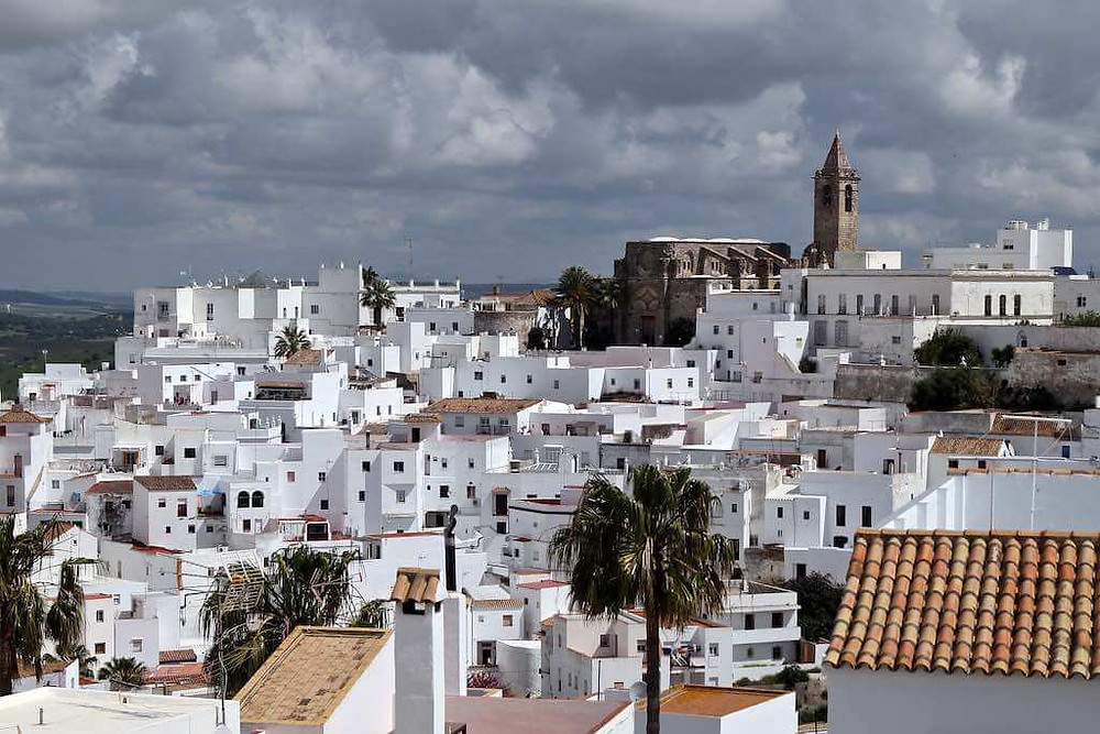 the picturesque town of Vejer de la Frontera