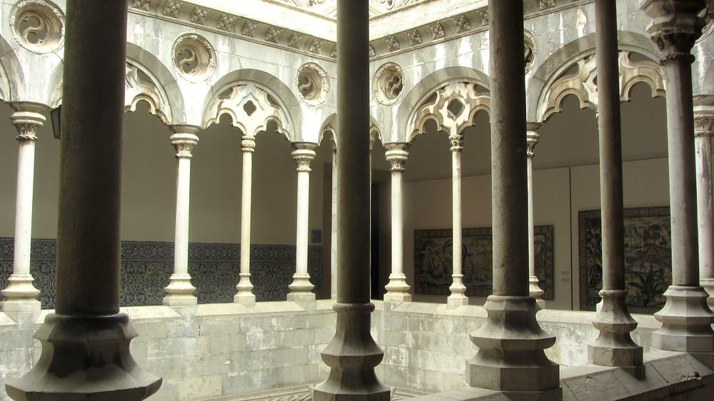 the 16th century convent housing Lisbon's Tile Museum