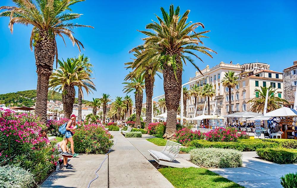 Riva Promenade in Split