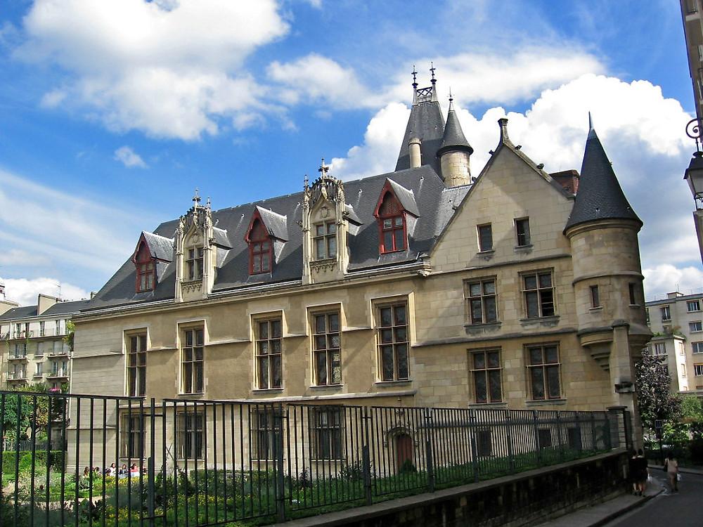 the medieval Hotel Sens in the Marais