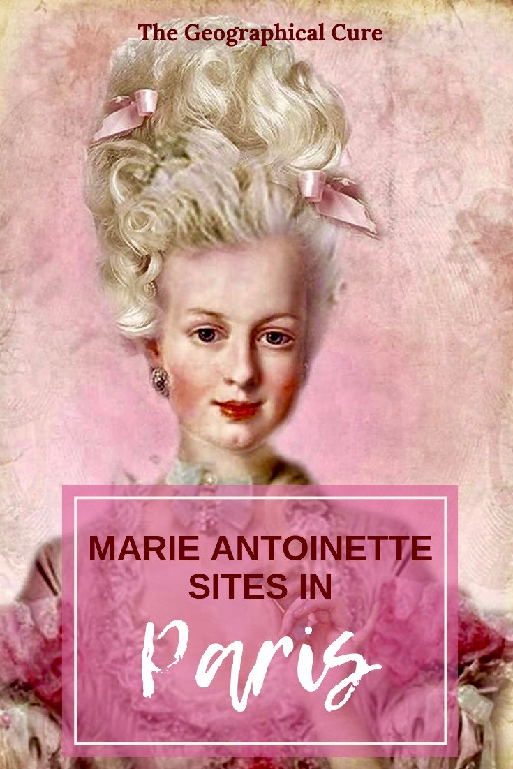 Queen Marie Antoinette Sits in and around Paris