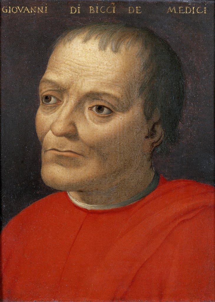 Cristofano dell'Altissimo, Portrait of Giovanni di Bicci de'Medici, 1429