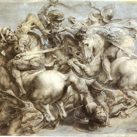 The Battle of the Battle Frescos: Leonardo vs Michelangelo in Florence's Palazzo Vecchio