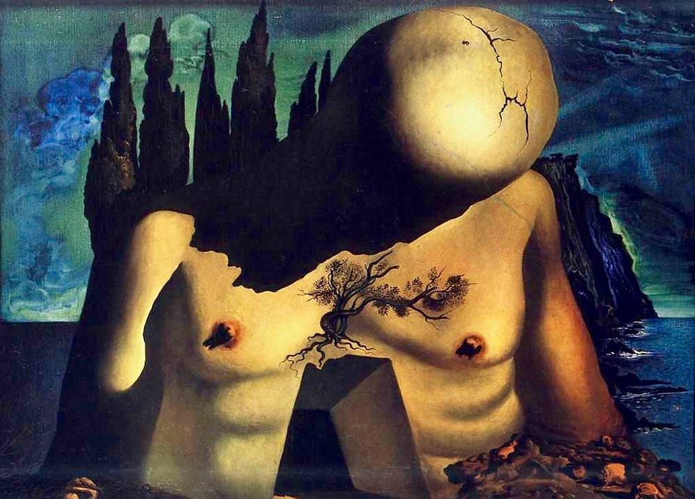 Salvador Dali, The Labyrinth Painting, 1941