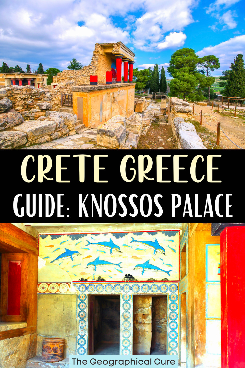ultimate guide to Knossos Palace on the island of Crete