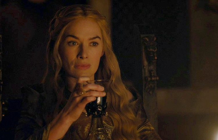 Cersei and her magic goblet