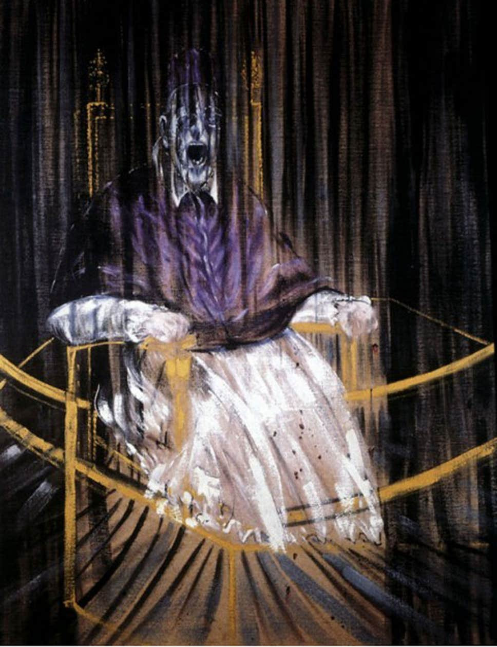 Francis Bacon's Study after Velázquez's Portrait of Pope Innocent X
