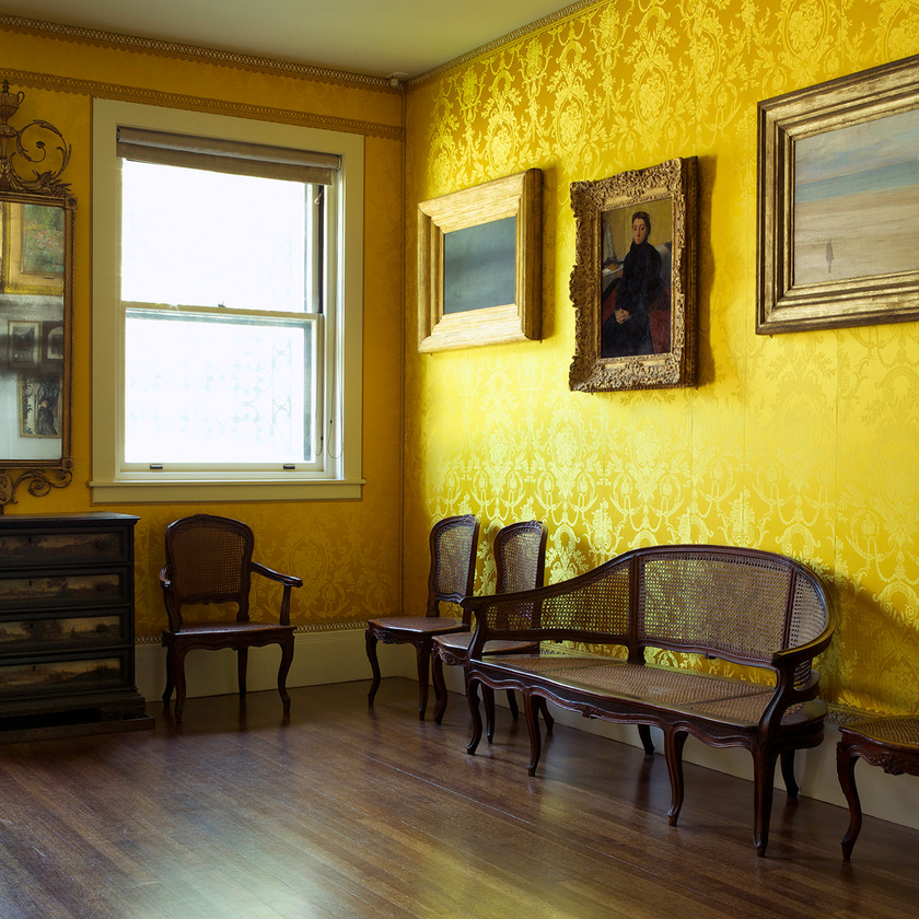 the Yellow Room in the Isabella Stewart Gardner Museum