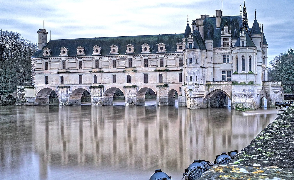 Royal Chateau de Chenonceau, Loire Valley France